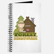 Male Forest Ranger Journal