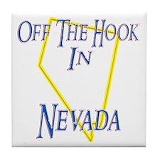 Off the Hook in NV Tile Coaster