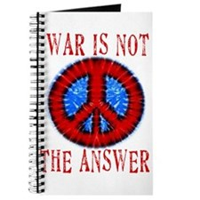 War is NOT The Answer Journal