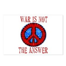 War is NOT The Answer Postcards (Package of 8)