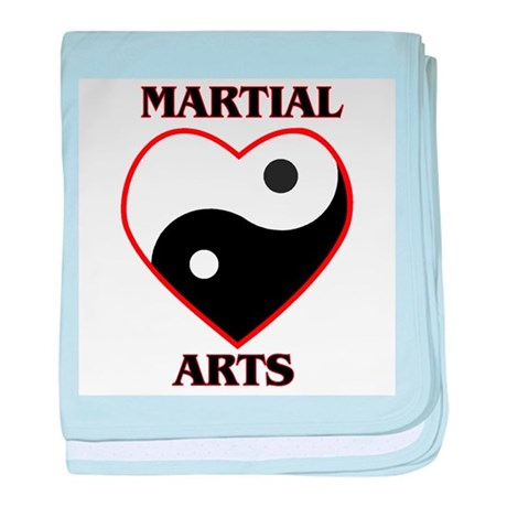Love Martial Arts baby blanket