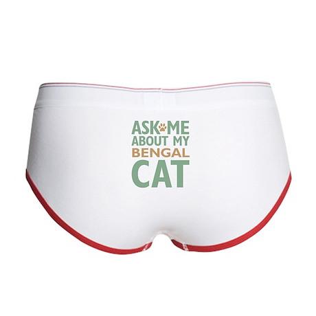 Bengal Cat Women's Boy Brief