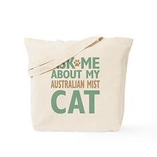 Australian Mist Cat Tote Bag