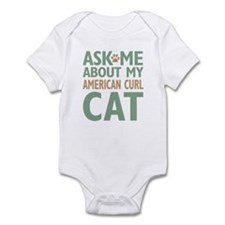 American Curl Cat Infant Bodysuit