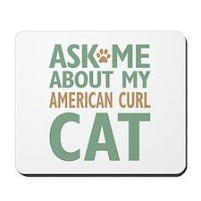 American Curl Cat Mousepad