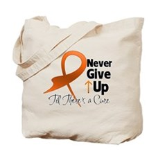 NeverGiveUp Multiple Sclerosi Tote Bag