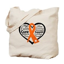 Hope Cure Multiple Sclerosis Tote Bag