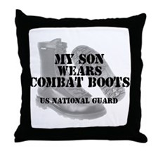 My Son Wears NG CB Throw Pillow