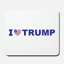 I Love Trump Mousepad