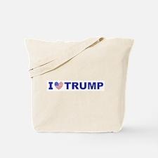 I Love Trump Tote Bag
