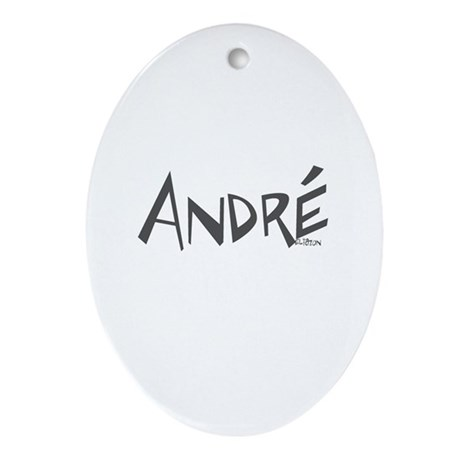 André Oval Ornament