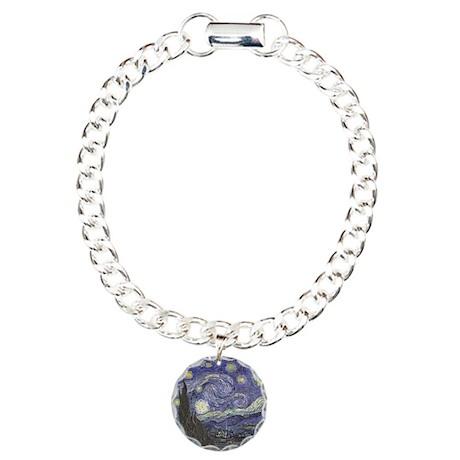 Starry Night Charm Bracelet, One Charm