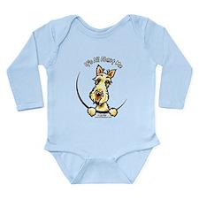Wheaten Scottie IAAM Long Sleeve Infant Bodysuit