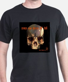 Coven 40 Years of Hell Shirt~ back print too T-Shi