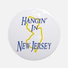 Hangin' in NJ Ornament (Round)