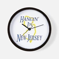 Hangin' in NJ Wall Clock
