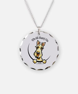 Wheaten Scottie IAAM Necklace