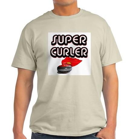 Super Curler Ash Grey T-Shirt