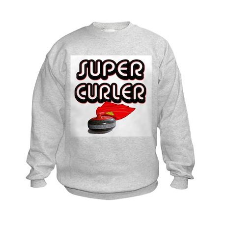 Super Curler Kids Sweatshirt