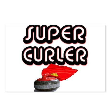 Super Curler Postcards (Package of 8)