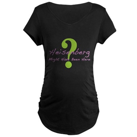 Heisenberg Maternity Dark T-Shirt