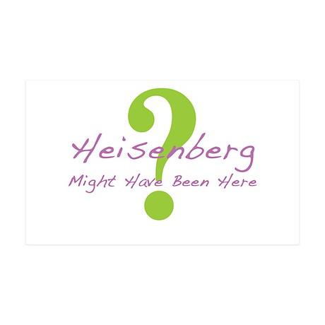 Heisenberg 38.5 x 24.5 Wall Peel