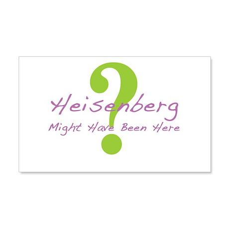 Heisenberg 22x14 Wall Peel