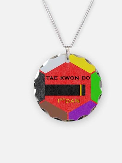 TaeKwonDo Black Belt Necklace