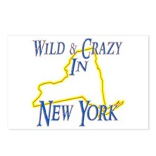 Wild & Crazy in NY Postcards (Package of 8)