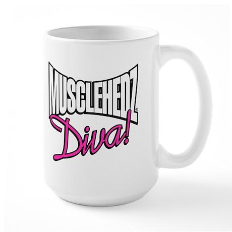 MUSCLEHEDZr Diva! - Large Mug
