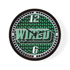 Wired Binary Wall Clock