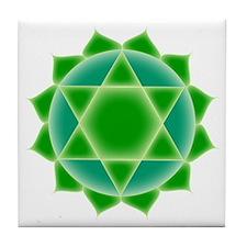 Fourth Chakra Tile Coaster