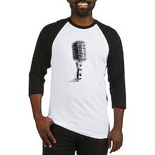 Vintage Microphone Baseball Jersey