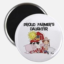 Proud Farmer's Daughter Magnet