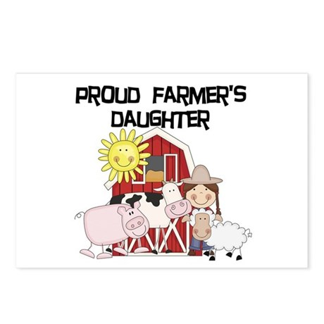 Proud Farmer's Daughter Postcards (Package of 8)