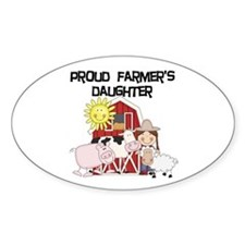 Proud Farmer's Daughter Decal