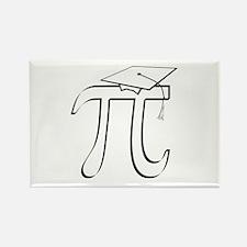 Math Pi Graduate Rectangle Magnet