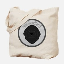 Sweet Newfie Face Tote Bag