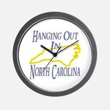 Hanging Out in NC Wall Clock