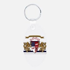 APBT coat of arms Keychains