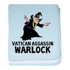 Vatican Assassin Warlock baby blanket
