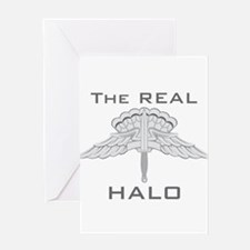 Real HALO Greeting Card