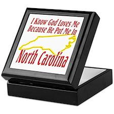 God Loves Me in NC Keepsake Box