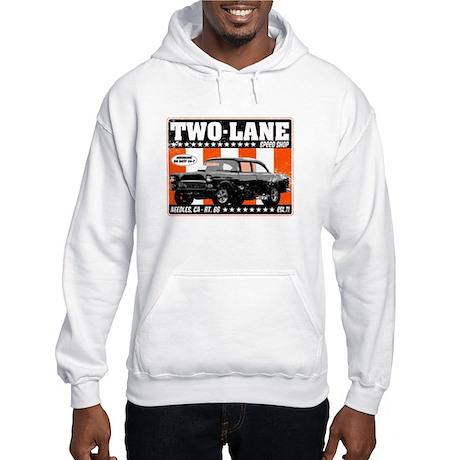 Two-Lane Speed Shop Hooded Sweatshirt