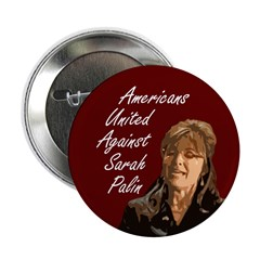 Americans United Against Palin Button