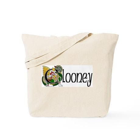 Clooney Celtic Dragon Tote Bag