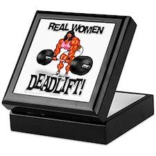 REAL WOMEN... DEADLIFT! - Keepsake Box