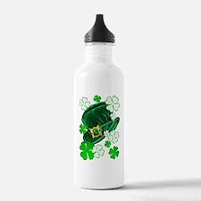 Green N Gold Shamrock Water Bottle