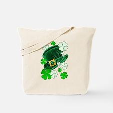 Green N Gold Shamrock Tote Bag