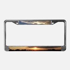 Amazing Sunset License Plate Frame